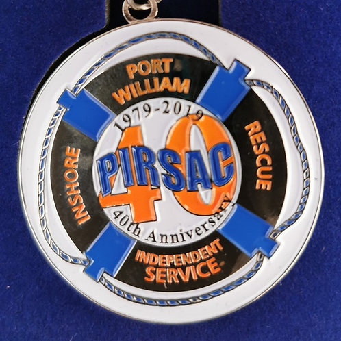 PIRSAC 40th Anniversary Enamel Badge