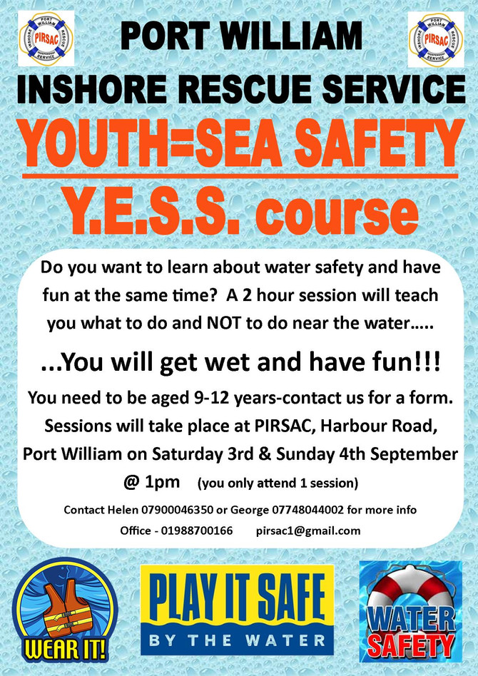 New Water Safety Course for kids announced