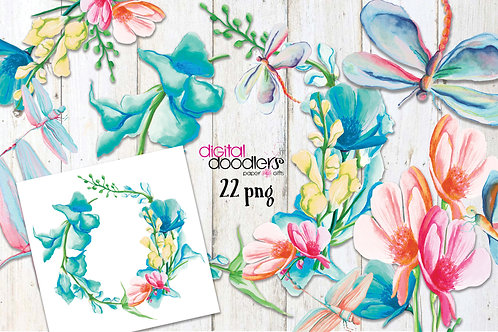 Snapdragons& Dragonfly Graphics