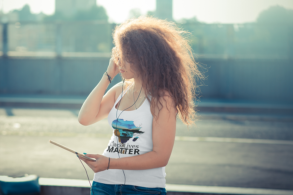 tank-top-mockup-of-a-woman-listening-to-