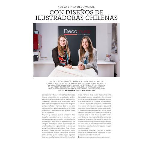 Publicación Revista Casas