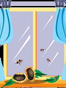 Eine Biene verleiht Flügel