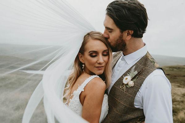rustic wedding tan hill
