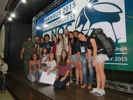 XXII Congresso Brasileiro de Ornitologia e X Neotropical Ornithological Congress, em Manaus