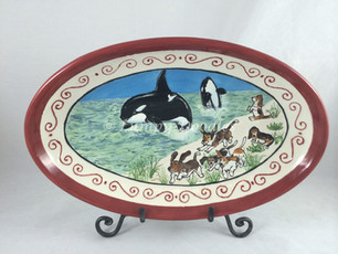 Killer Whales and Family Bassets