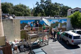 Pleasanton Mural Restoration