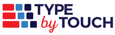 Type by Touch Logo