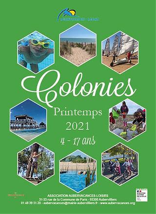 Colonies - Printemps 2021