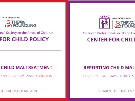 Resource - Comprehensive Digest of Child Maltreatment Reporting Laws of Australia & United States