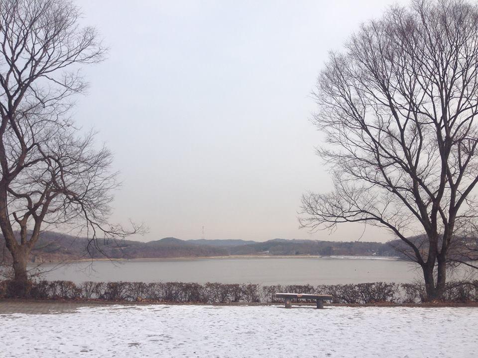 광성보에서 만난 겨울