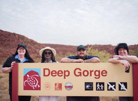 Celebrity Visit to Murujuga