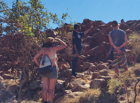 International visitors fascinated by Aboriginal Culture