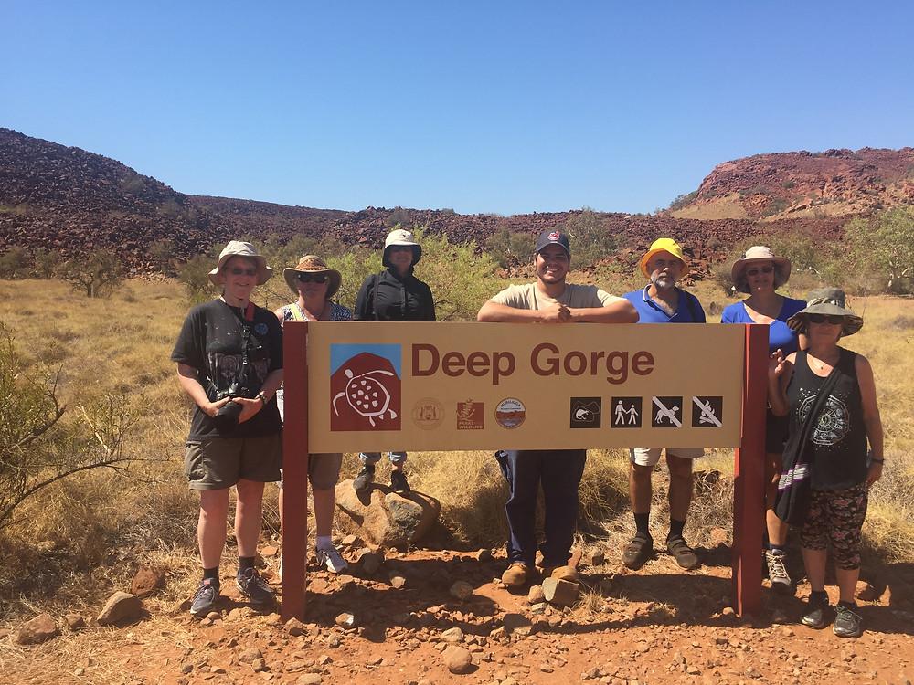 tour group Deep Gorge today 17-10-2018