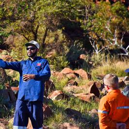 Tour guide Conrad