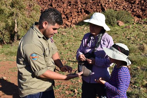 Tour guide Mark in the Murujuga National Park