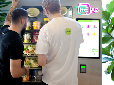 Healthy Vending Machines in London Springing Up