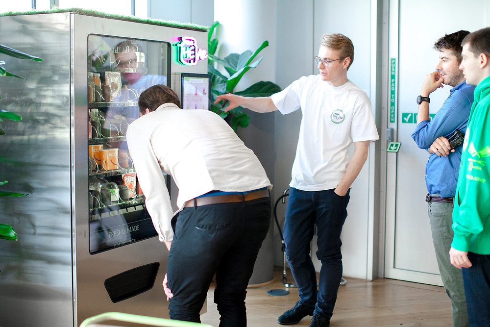 Healthy Vending Machines in London