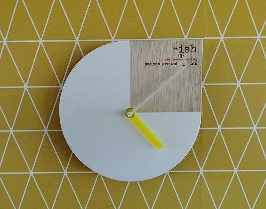 Minimal-ish-tic Clock (small)