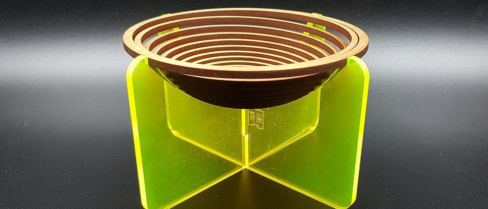 Spiral Bowl (Fluorescent Yellow)