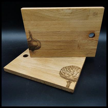 'Artichoke & Onion' Chopping Board