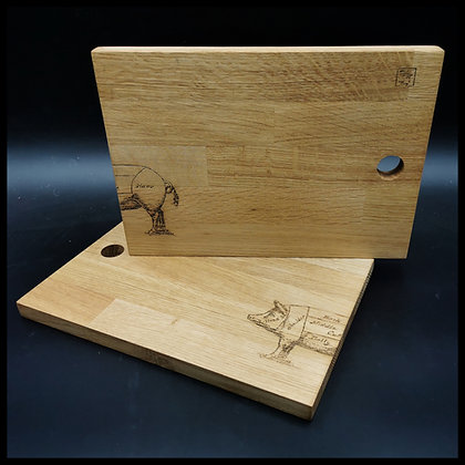 'Pig' chopping board