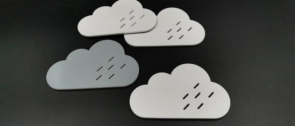 'Clouds' coasters