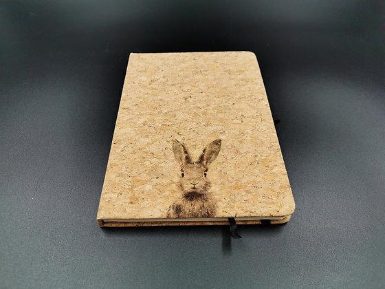 Bunny Cork Notebook (A5)