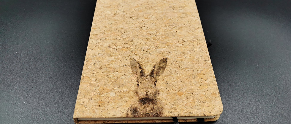 Bunny Cork Notebook (A5)