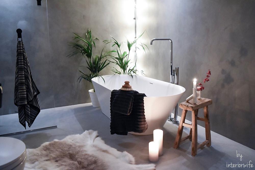 Dette badet er badet mitt og er renovert i samarbeid med Rørkjøp!