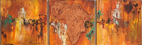 Africa's Glory #3 Original Painting