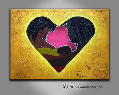 """In Loves Embrace""- Original Recreation"
