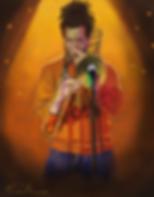 Man playing trumbone, jazz,