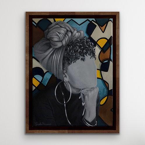 """Love on the brain""-Original Painting"