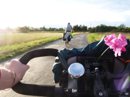 Argile et bicyclette!