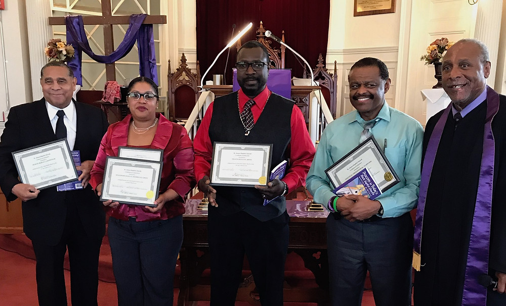 Saint James Baptist Church Diaconate Class of March 2019