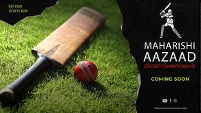 Purvanchal's very first Cricket Bowling machine inaugurated at Megastar Maharishi Aazaad Stadium
