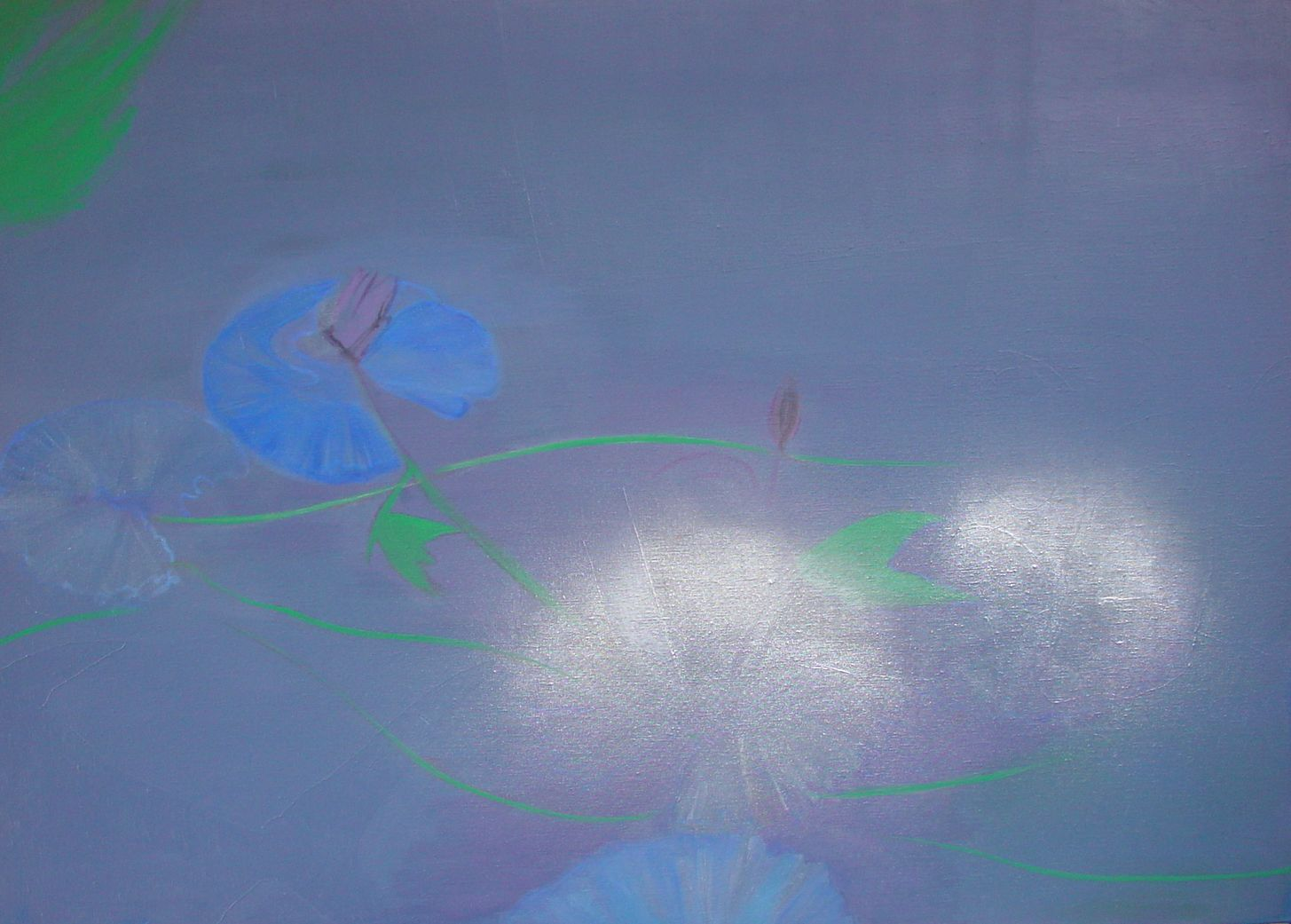 """""""Waterlilies"""". Private collection. Phuket"""