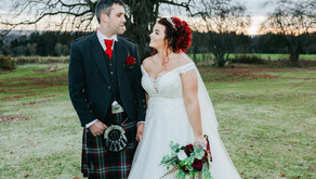 Amy & Peter at Kincraig Castle Hotel
