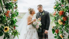 Abby & Harry's- Scottish Country Wedding at Nigg