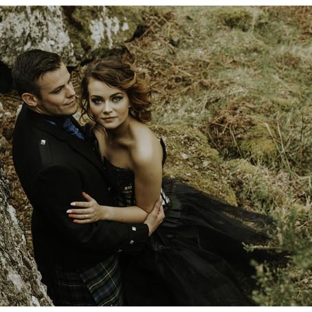 Loch Ness Wedding Photo Shoot