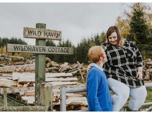 A Farm Engagement Session with Lauren & Calum
