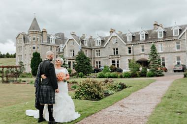 Nethybridge Hotel Wedding