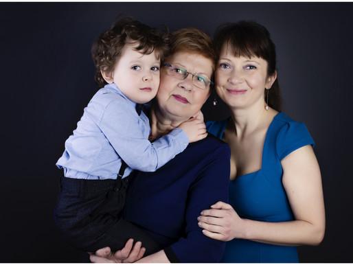Family time / studio photography