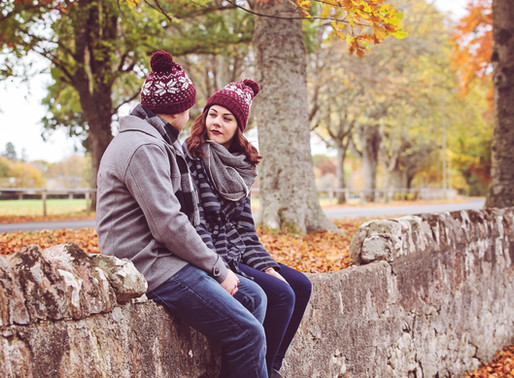 Fall Couple Session ¦ Inverness