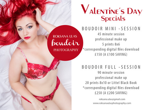 Valentine's Boudoir Special