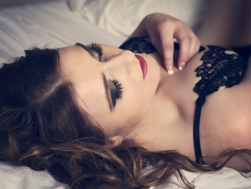 Birthday Boudoir Photoshoot