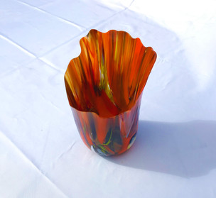 Glass.  22cm x 18cm.