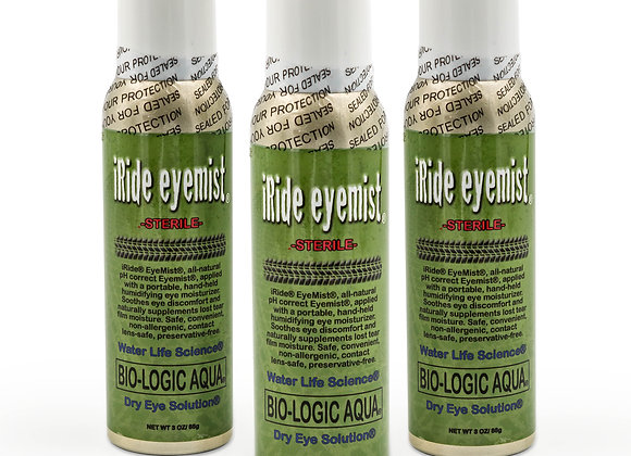iRide EyeMist Quantities