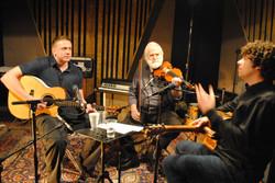 Damien Dempsey, John Sheahan and Declan O Rourke studio shoot 9th march 2013.JPG