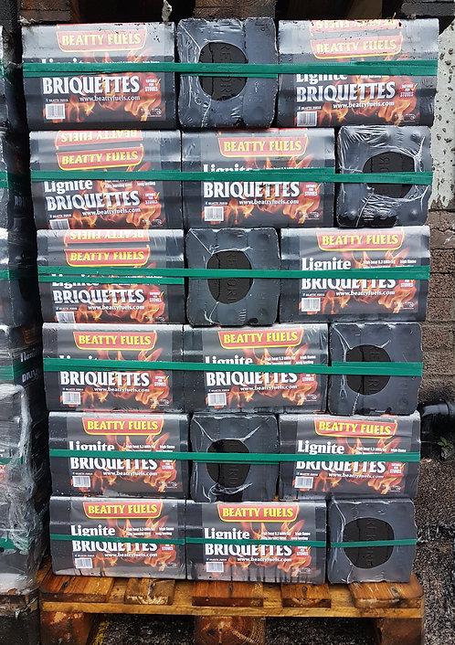 Beattys Lignite Briquettes